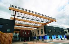 Holte, Mayfield  & Lozells School – Glulam Atrium Canopy