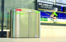 Sir Chris Hoy Velodrome, Emirates Arena – Bespoke Stainless Steel Bin