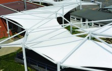 Grand Avenue Primary – Tensile Canopy