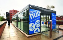 Cycle Hub ® – Bury Interchange- Transport for Greater Manchester (TFGM)