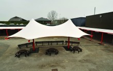 University Academy, Warrington – Tensile Structure