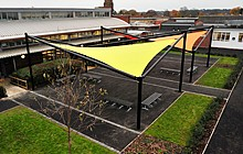 The Bourne Academy Bournemouth – BSF – External Furniture